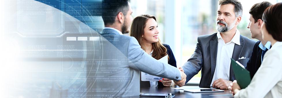 Akquisition im Geschäftsbereich Enterprise IT