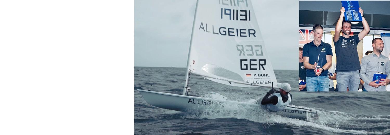 Allgeier congratulates sailing world champion Philipp Buhl